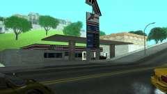 New Xoomer.Новая заправка. для GTA San Andreas