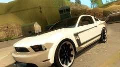 Ford Mustang Boss 302 2011 для GTA San Andreas
