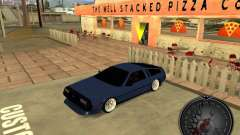 Delorean DMC-12 Drift для GTA San Andreas