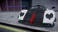Pagani Zonda Cinque Roadster для GTA 4