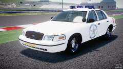 Ford Crown Victoria US Marshal [ELS] для GTA 4