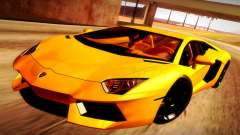 Lamborghini Aventador LP 700-4 для GTA San Andreas