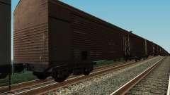 Рефрежираторный вагон Дессау №7 для GTA San Andreas