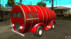 Beer Barrel Truck для GTA San Andreas