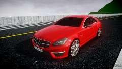 Mercedes-Benz CLS 63 AMG 2012 для GTA 4