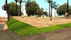 Новая баскетбольная площадка в Лос Сантосе
