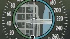 Спидометр IV (Скин 8) для GTA 4