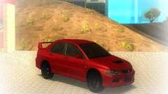 Mitsubishi Lancer Evolution IX MR 2006 для GTA San Andreas