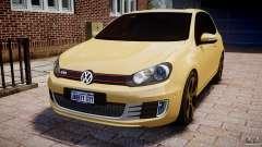 Volkswagen Golf GTI Mk6 2010 для GTA 4