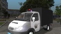 ГАЗ 3302 Милиция для GTA San Andreas