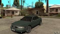Audi A8 Long 6.0 2000 для GTA San Andreas