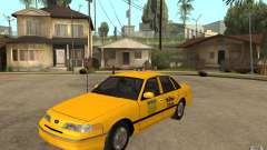 Ford Crown Victoria Taxi 1992 для GTA San Andreas