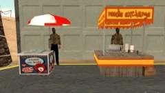 Новый продавец хот-догов для GTA San Andreas