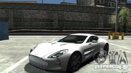 Aston Martin One 77 для GTA 4