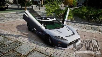 Spyker C8 Aileron v1.0 для GTA 4