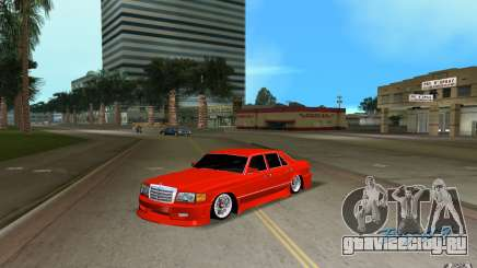 Mercedes-Benz W126 Wild Stile Edition для GTA Vice City