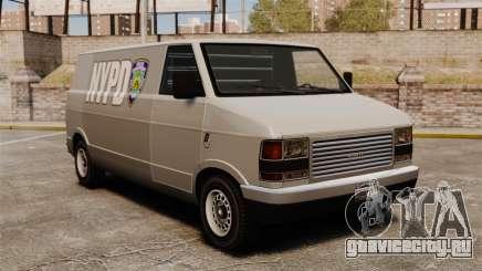 Новые раскраски для фургона Pony для GTA 4