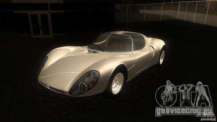 Alfa Romeo Tipo 33 Stradale для GTA San Andreas