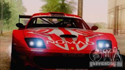Ferrari 550 Maranello Super GT500 для GTA San Andreas