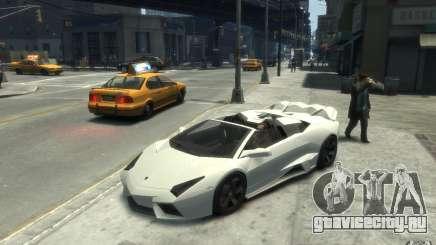 Lamborghini Reventon Roadster REDUX [EPM] для GTA 4