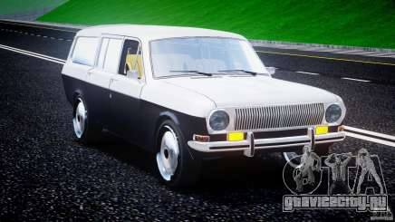 ГАЗ 24-12 1986-1994 Stock Edition v2.2 для GTA 4