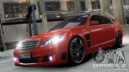 Mercedes-Benz Brabus SV12 R Biturbo 800 2011 для GTA 4