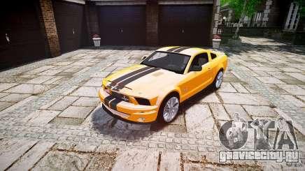 Shelby GT 500 KR 2008 K.I.T.T. для GTA 4