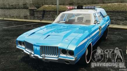 Oldsmobile Vista Cruiser 1972 Police v1.0 [ELS] для GTA 4