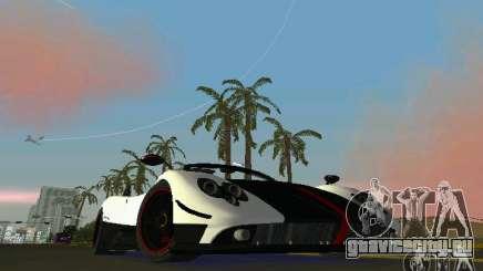 Pagani Zonda Cinque Roadster 2010 для GTA Vice City