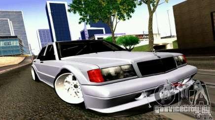 Mercedes-Benz 190E Drift для GTA San Andreas