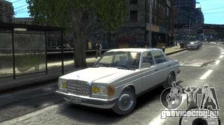 Mercedes-Benz 230E 1976 для GTA 4