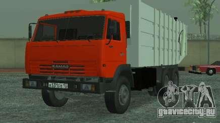 КамАЗ 53215 Мусоровоз для GTA San Andreas