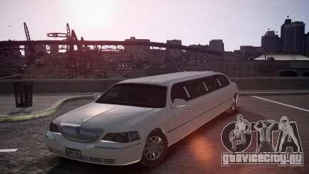 Lincoln Town Car Limousine для GTA 4