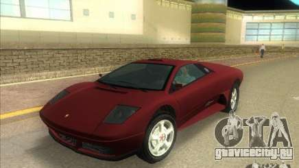 Infernus из GTA IV для GTA Vice City