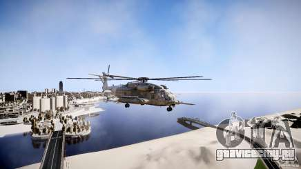 MH-53 Pavelow v1.1 для GTA 4