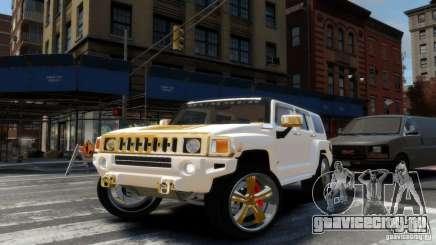 Hummer H3 2005 Gold Final для GTA 4