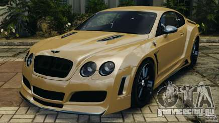 Bentley Continental GT Premier v1.0 для GTA 4