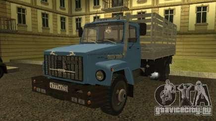 ГАЗ 3309 бирюзовый для GTA San Andreas
