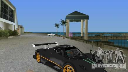 Pagani Zonda R для GTA Vice City