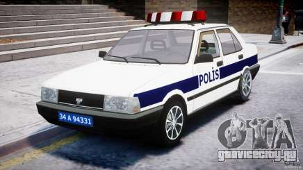 Tofas Sahin Turkish Police v1.0 для GTA 4