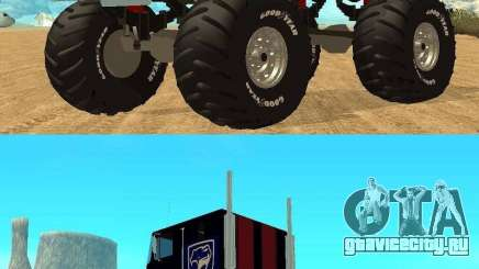 Ford CLT Monster Truck для GTA San Andreas