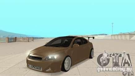Toyota Scion tC Edited для GTA San Andreas