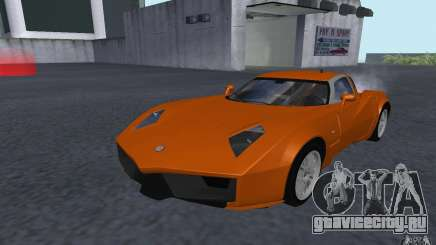 Spada Codatronca TS Concept 2008 для GTA San Andreas