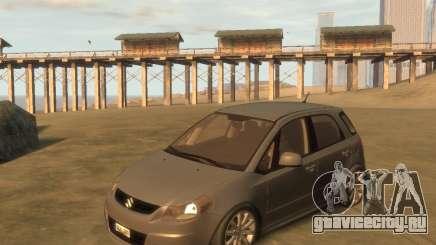 Suzuki SX4 Sport Back для GTA 4