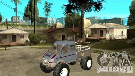 ГАЗ КержаК (Болотоход) для GTA San Andreas