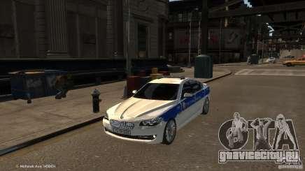 BMW 550i Azeri Police YPX для GTA 4
