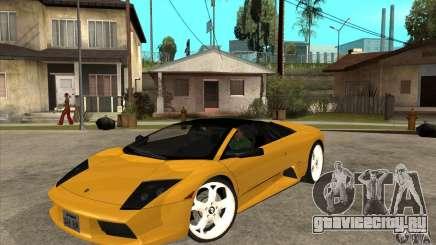Lamborghini Murcielago Roadster Final для GTA San Andreas