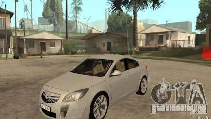 Opel Insignia OPC 2010 для GTA San Andreas