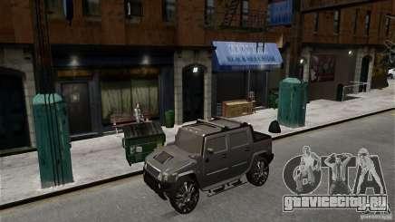 Hummer H2 SUT для GTA 4