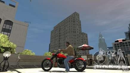 The Lost & Damned Bikes Nightblade для GTA 4